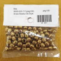 Brass Old Style Beads