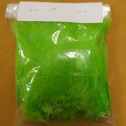 Lime Green Strung Fluffs (1 oz)