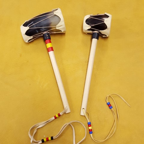 Sample of completed horn rattle kits