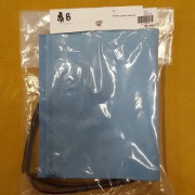 Sky Blue Suede Leather Anklet Kit