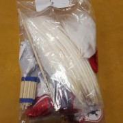 White Traditional Bustle Kit (back)