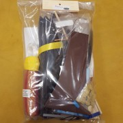 Black Traditional Bustle Kit (back)